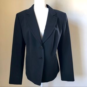 Yves Saint Laurent Uniform Black Wool Blazer